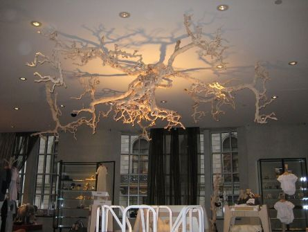 Tree root chandelier | House Ideas | Pinterest | Tree roots ...
