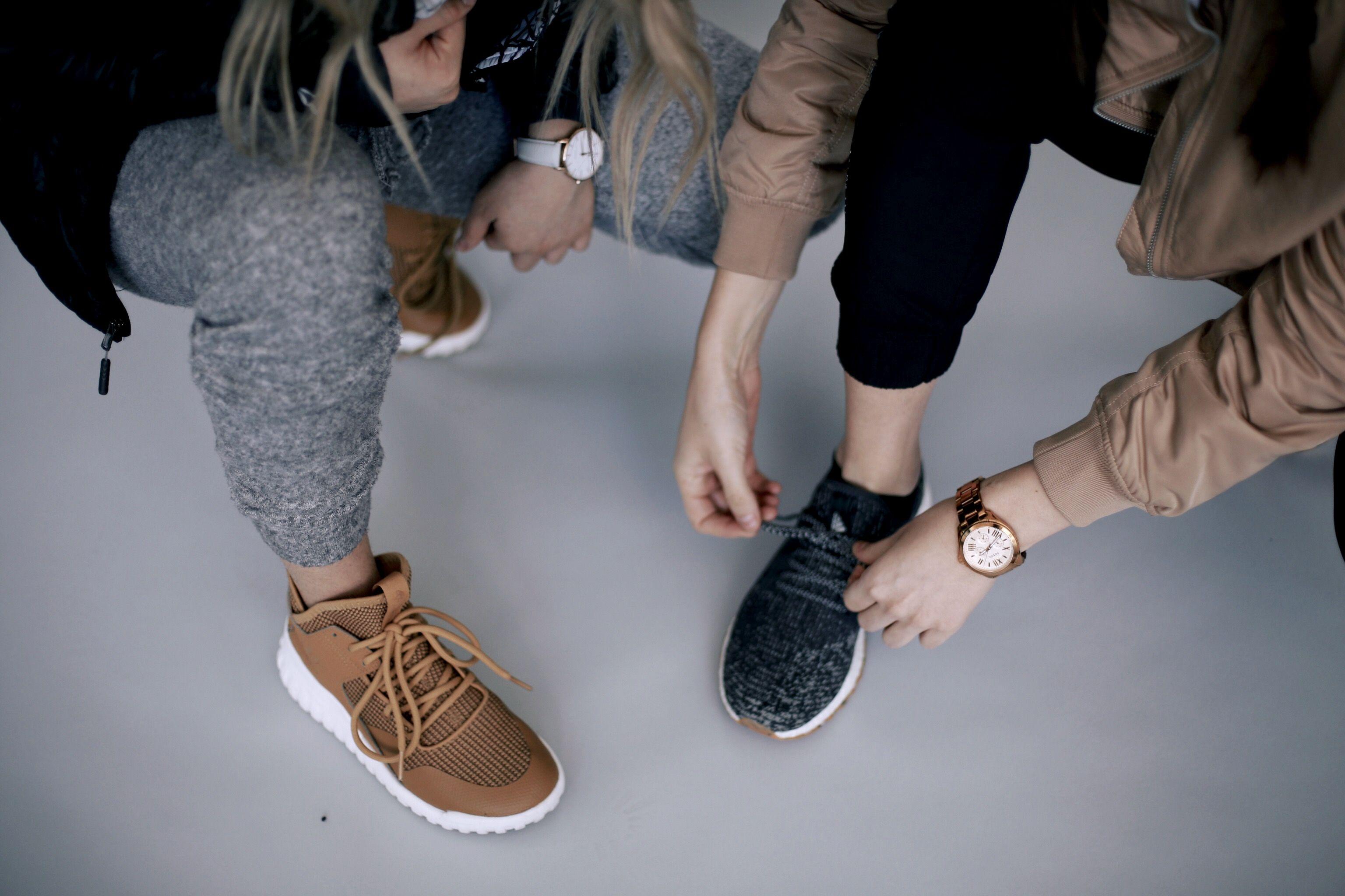 Adidas Tubular X & Adidas Boost