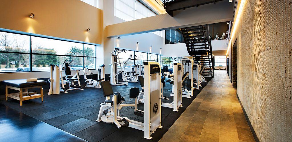 Lighting And Palette Gym Interior Home Sport Equinox Gym