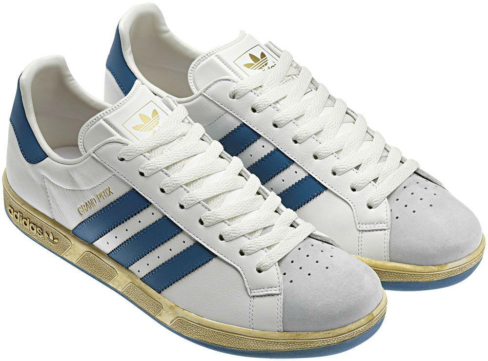 adidas Originals True Vintage Pack Grand Prix White Blue