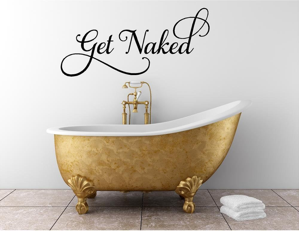 Get Naked VDC012 Vinyl Wall Decal-Made in America #applecidervinegarbenefits