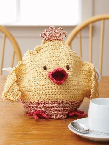 Chicken Tea Cozy Yarn Free Knitting Patterns Crochet Patterns