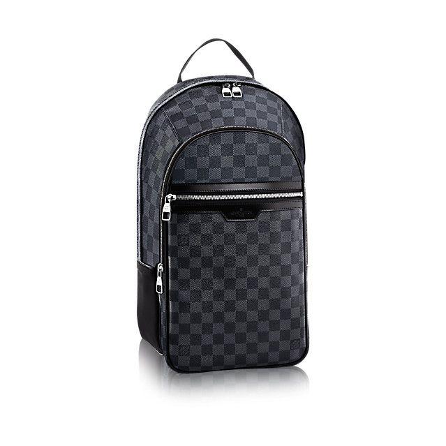 dd8c87446f3 Louis Vuitton - MICHAEL toile Damier Graphite