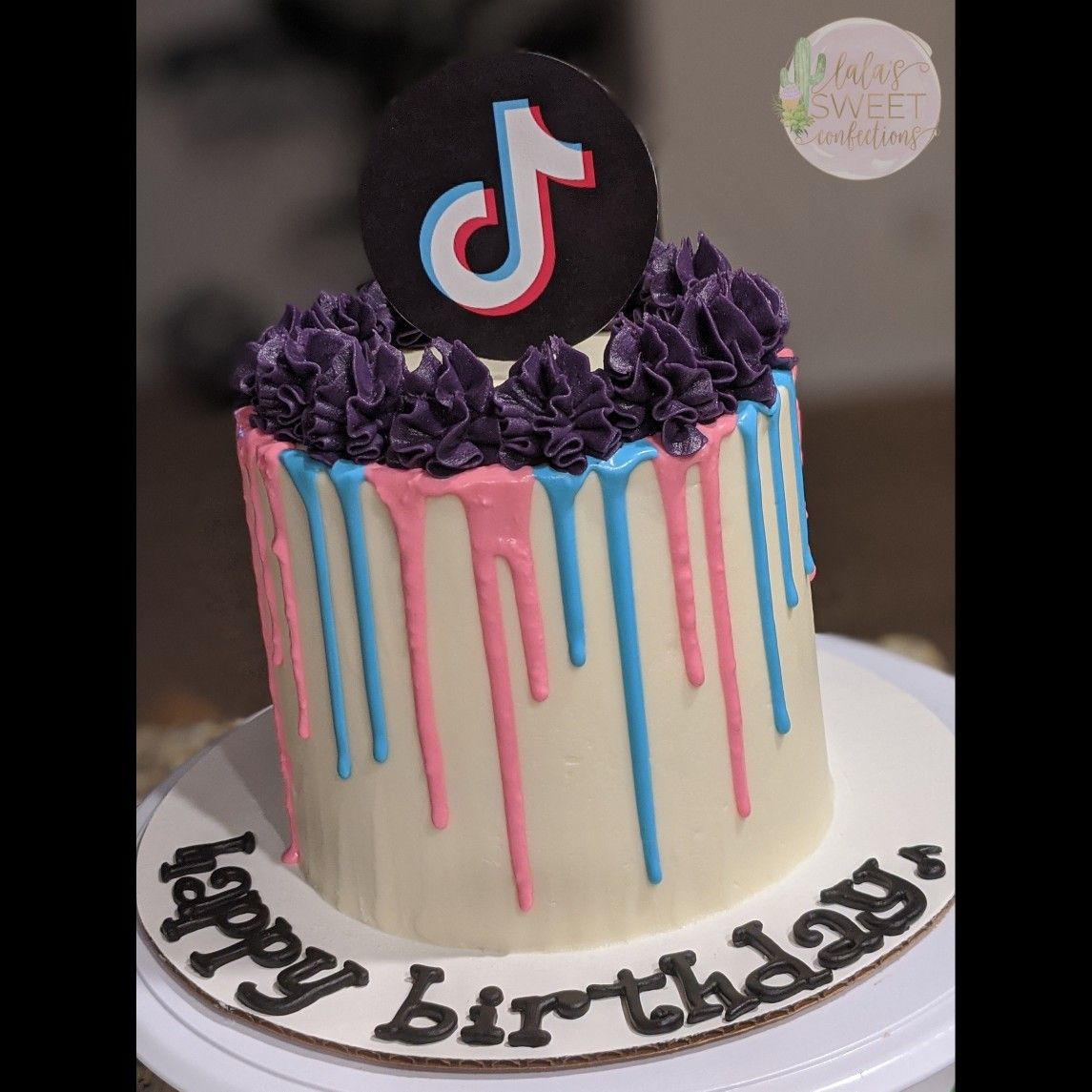 Tiktok Drip Cake Drip Cakes Cake Buttercream Cake