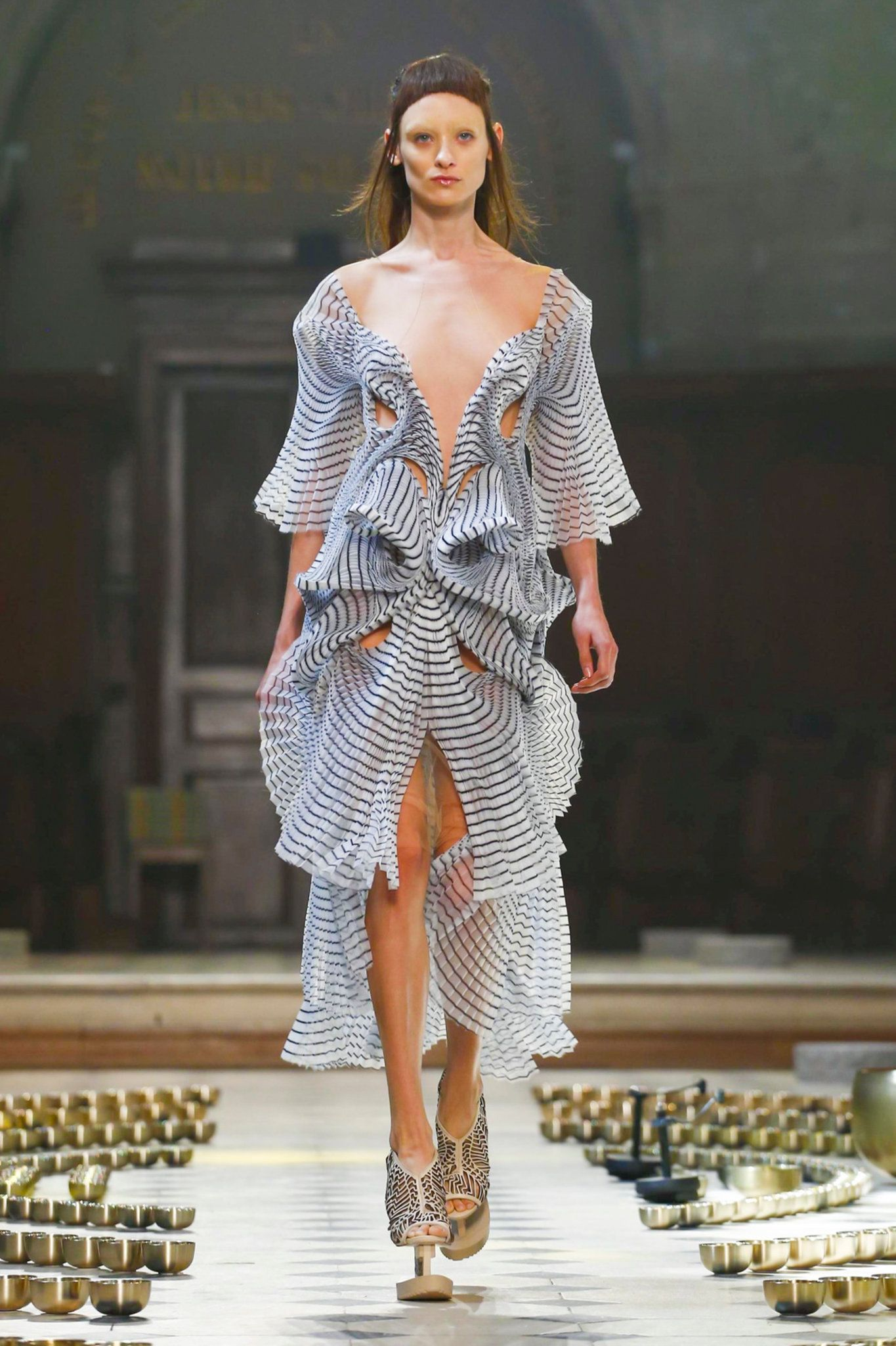 The fall 2016 couture collection from designer Iris Van Herpen.