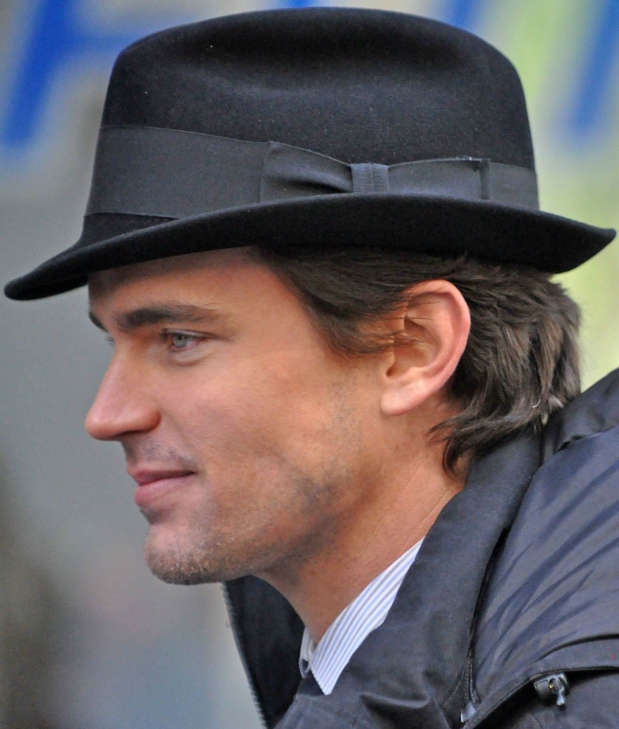 omg so freaking perfect white collar filming