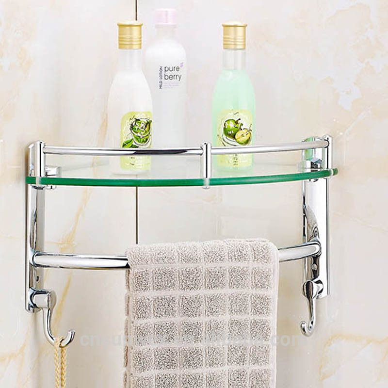 Stainless Steel Bathroom Corner Shelf Triangle Bathroom Glass Shelf Bathroom Corner Shelf Glass Wall Shelves Corner Shelves