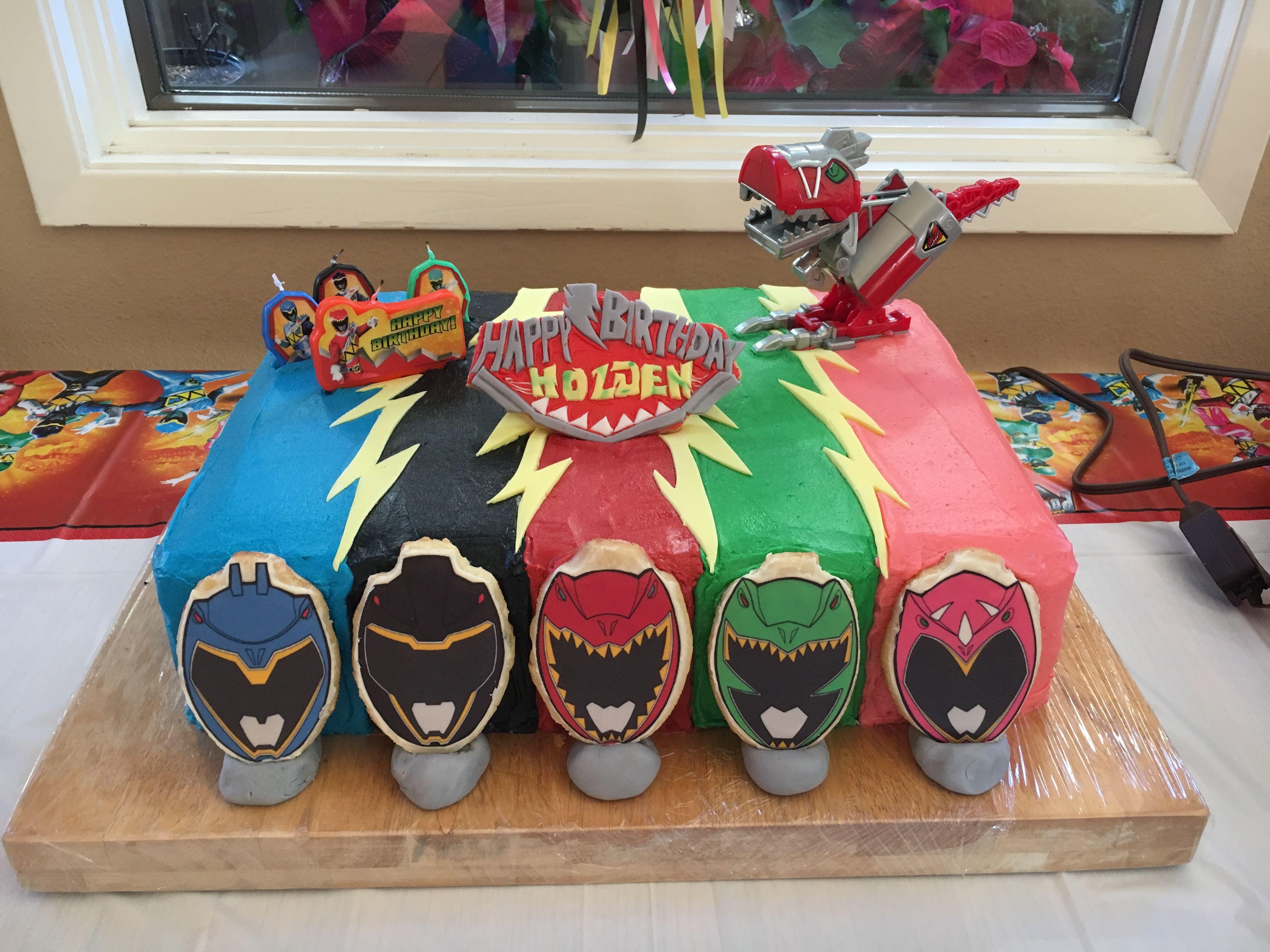 Power Ranger Dino Charge Helmets Sugar Sheet Prints On