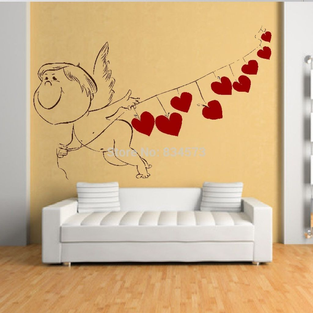 44 Awesome Valentine Wall Decoration Ideas   Wall decorations ...