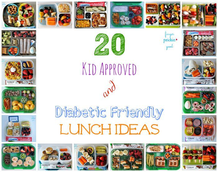 20 Kid Approved & Diabetic Friendly Lunch Ideas - Finger Prickin' Good
