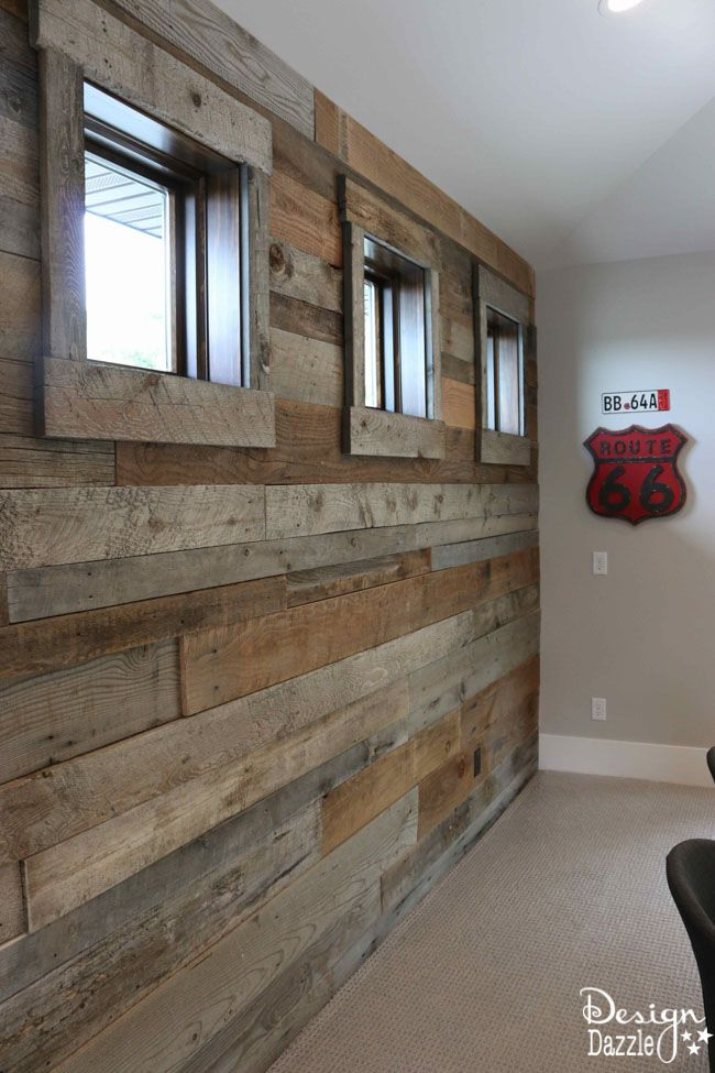 Rustic contemporary home tour rustic contemporary for Amazing wall coverings