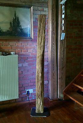 stehlampe leuchte alt holzbalken xl led lampe design wohnzimmer ... - Led Design Wohnzimmer