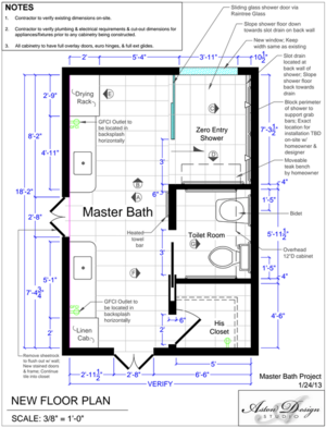 Before After An Accessible Master Bathroom Is Created Using Universal Design Principles Designed Universal Design Bathroom Accessible Bathroom Design Accessible Bathroom