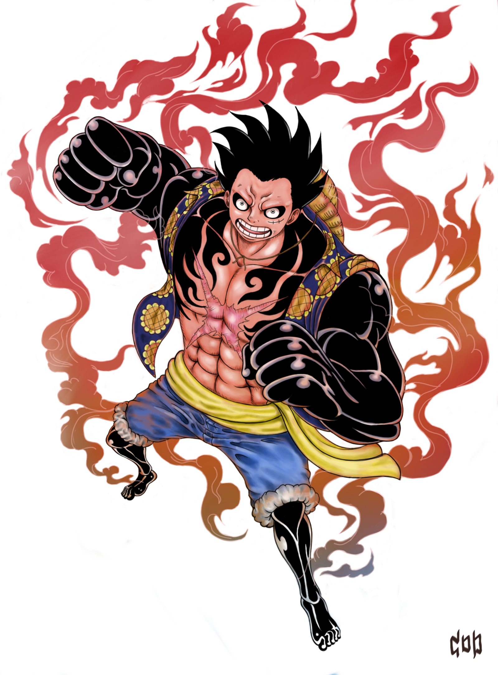 Pin By Voor On Animes Luffy Gear 4 Monkey D Luffy Luffy