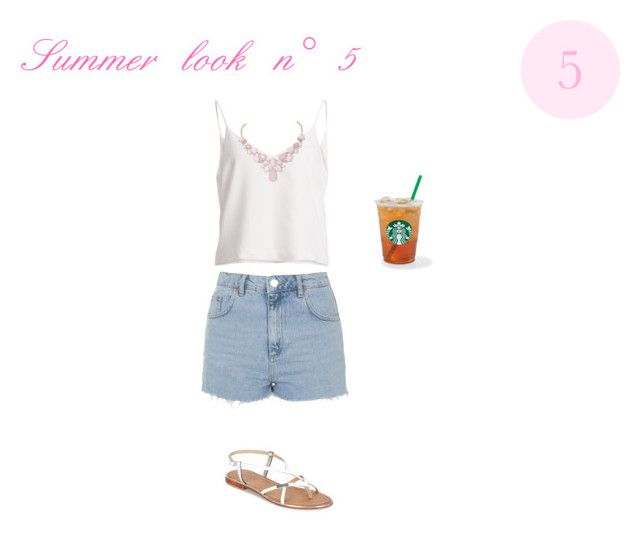 """""""Summer look n° 5"""" by alexiastyle ❤ liked on Polyvore"""