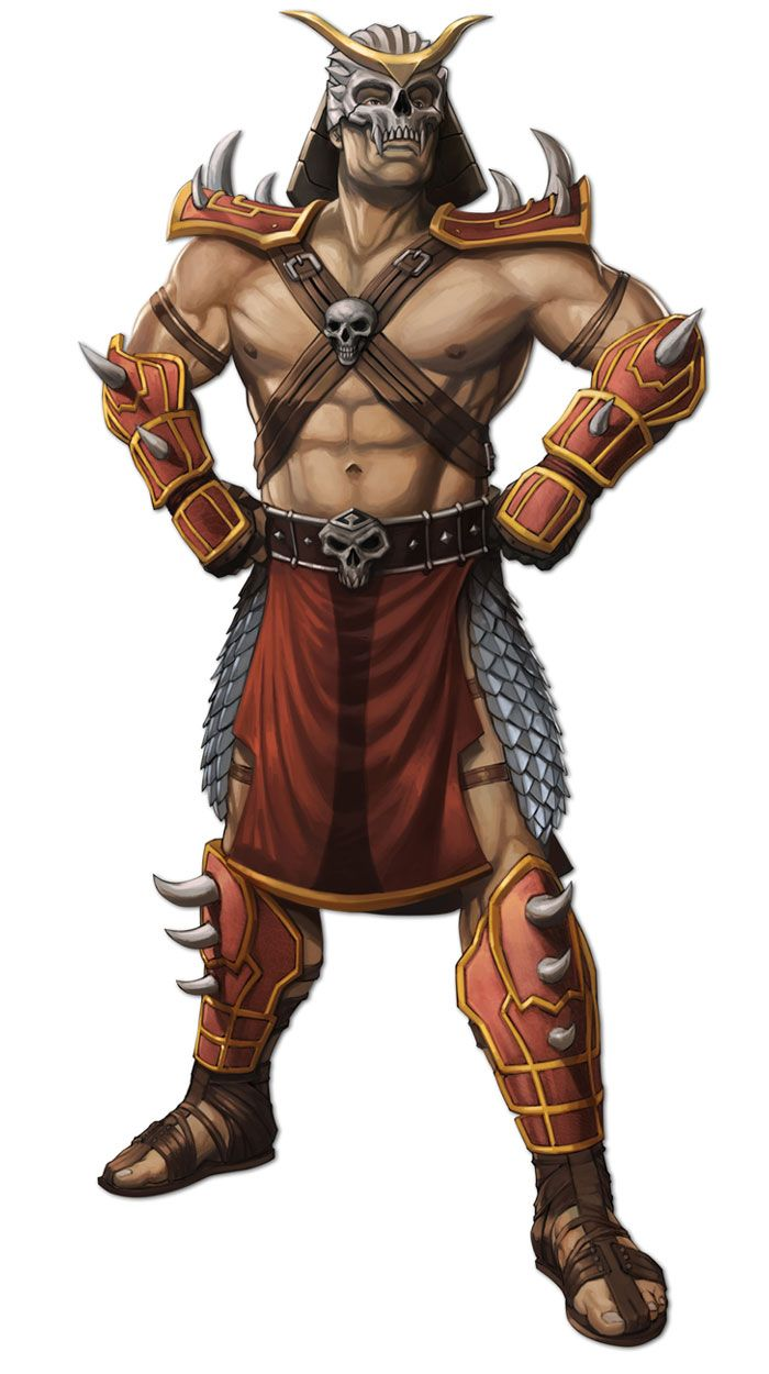 Shao Kahn | 2D Characters | Mortal kombat art, Mortal kombat xl
