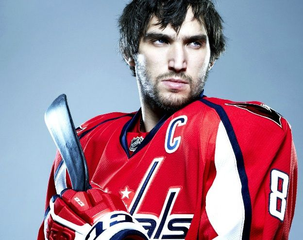 An Intimidating Ovechkin Sort Of Capitals Hockey Washington Capitals Hockey Hockey Players
