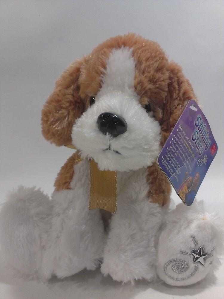 Russ Shining Stars Beagle Plush Puppy Dog Beanbag Brown White
