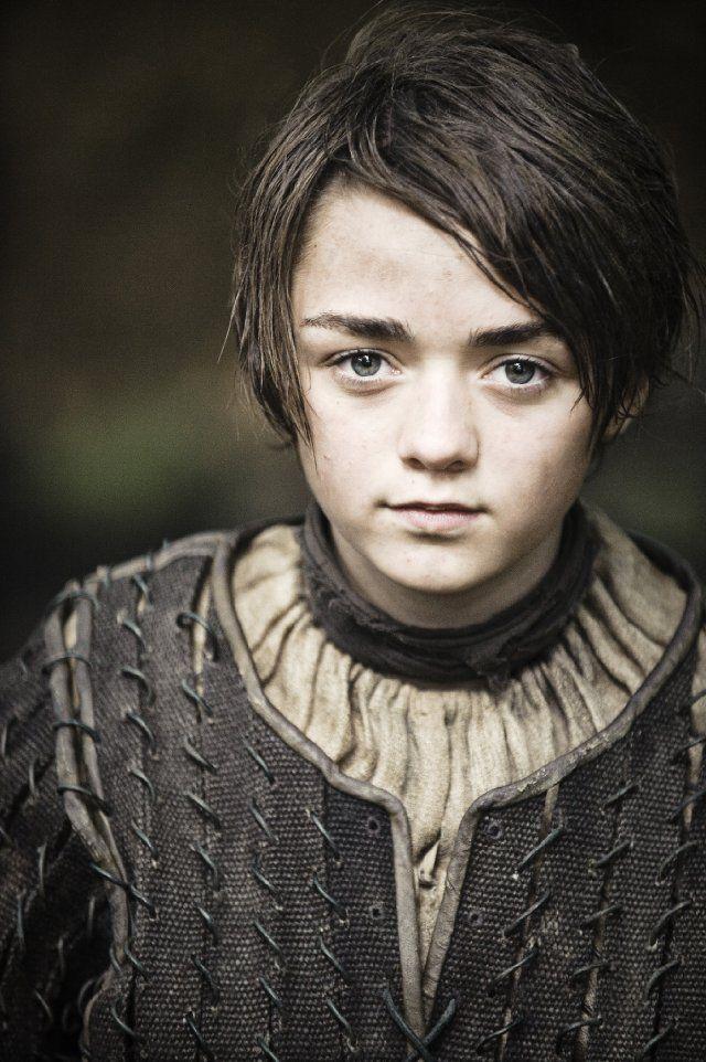 Still of Maisie Williams in Game of Thrones