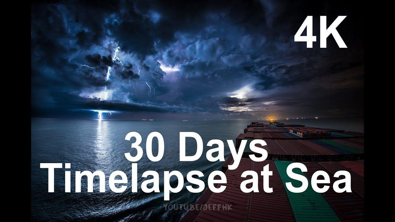 Witness this amazing Timelapse at Sea Through Thunderstorms, Torrential Rain & Busy Traffic https://www.youtube.com/watch?v=AHrCI9eSJGQ&app=desktop&utm_content=buffer1ad34&utm_medium=social&utm_source=pinterest.com&utm_campaign=buffer