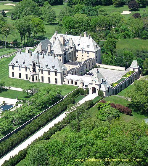 100 Best Castles Modern mansion Financier and North shore