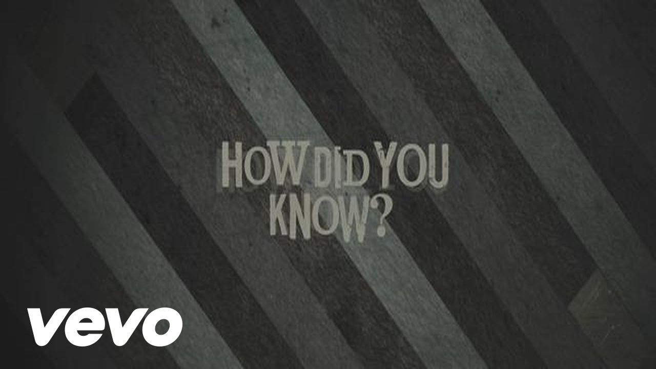 The Seeking - How Did You Know? (Lyric Video)