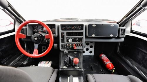 Ford RS200 Interior
