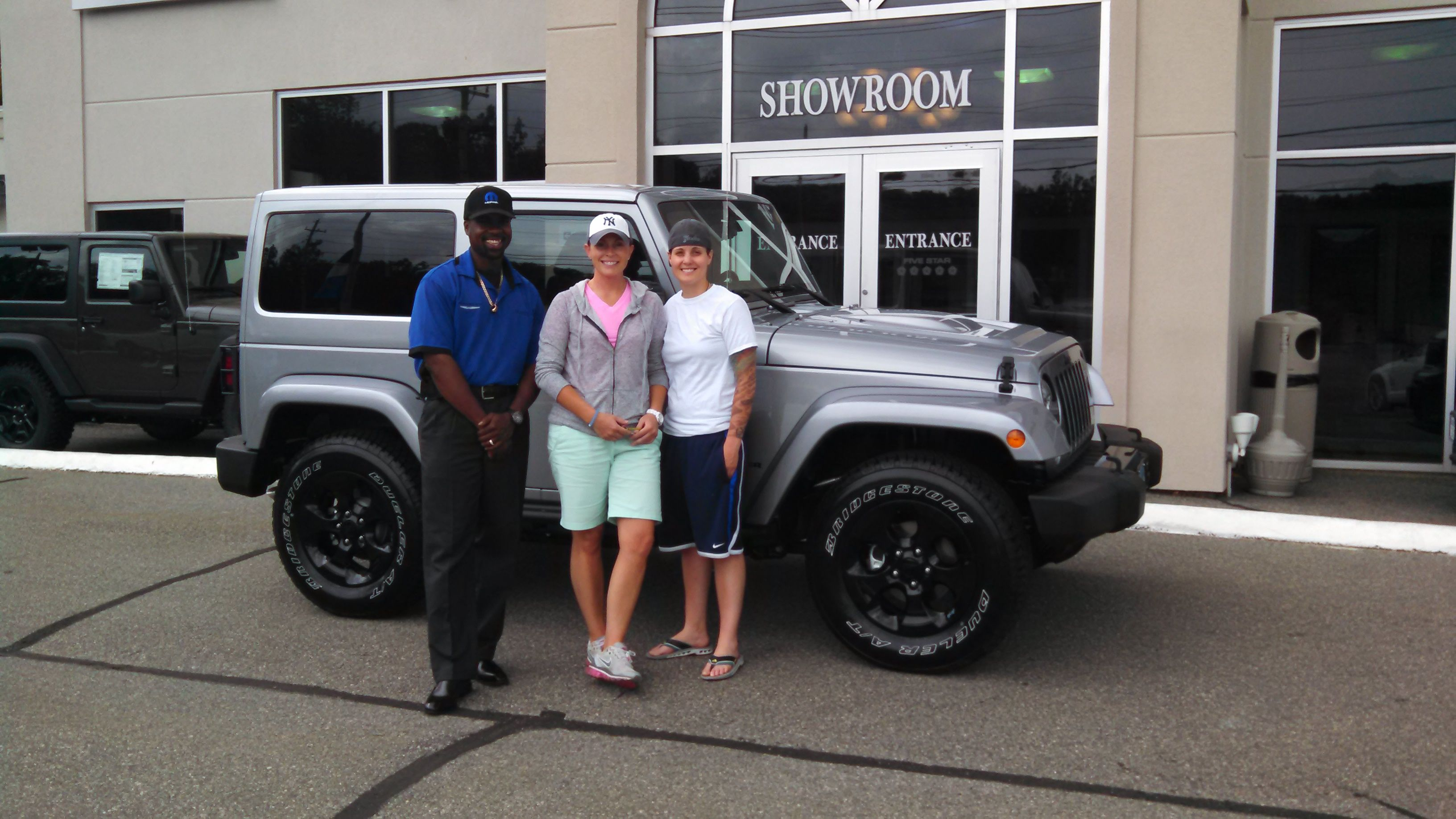 Congratulations To Ashley And Shawn Enjoy Your New Jeep Wrangler