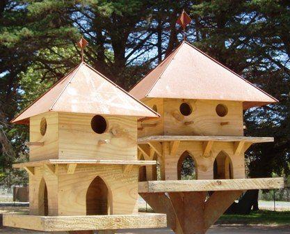 Metal Roof Large Bird Houses Wooden Bird Feeders Bird House