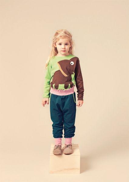 Groen olifant t-shirt - Ubang - Belleketrek.be - Online kinderkleding