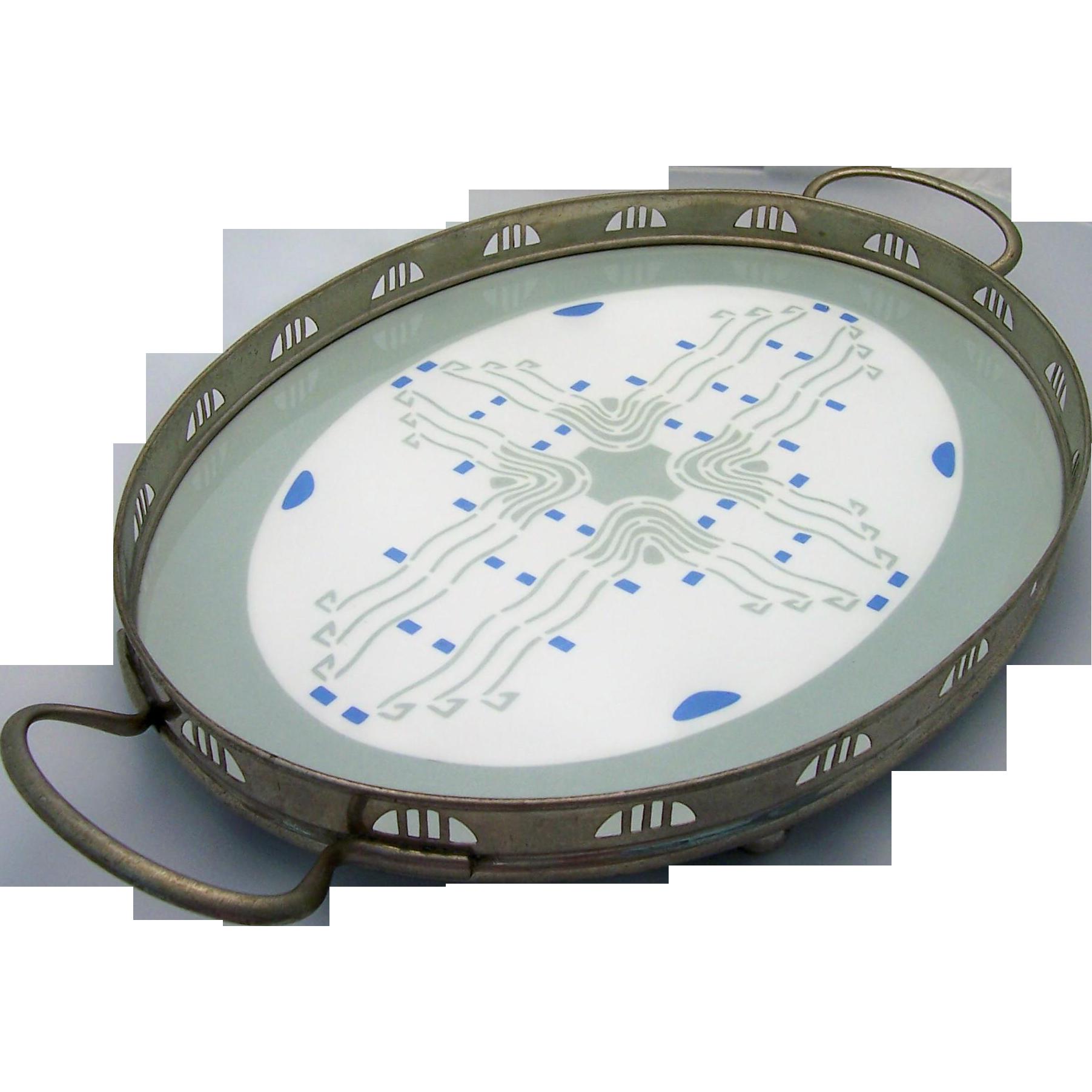 Vintage Villeroy And Boch Porcelain Serving Tray