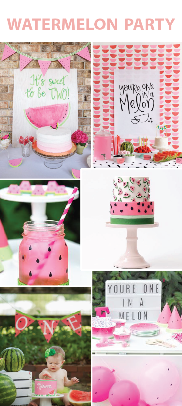 Watermelon Birthday Parties