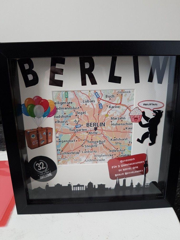 reisegutschein zum geburtstag berlin geschenke basteln. Black Bedroom Furniture Sets. Home Design Ideas