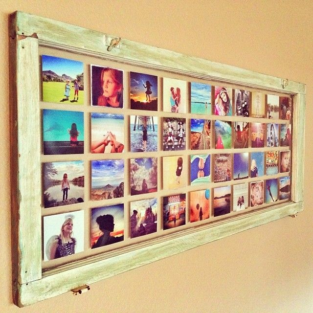Antique Window Photo Print Display - A PostalPix blog! | Decorate ...