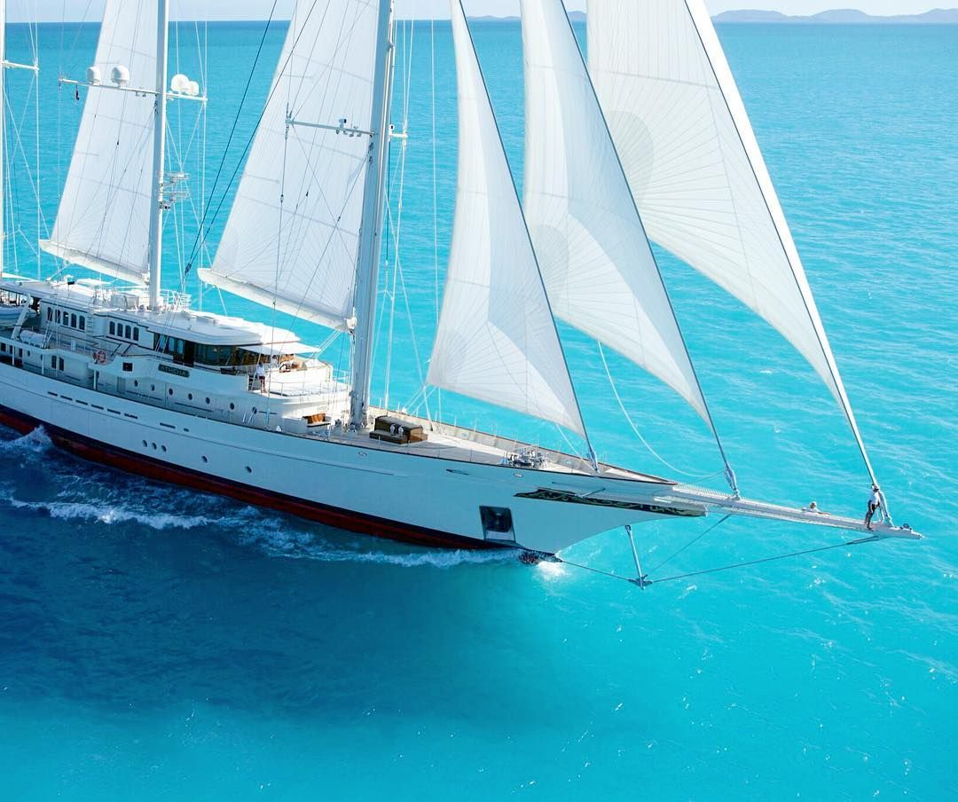 Charter athena the largest privately owned sailing yacht