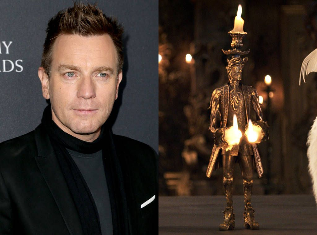 Ewan McGregor As Lumiere From What The Beauty And Beast Characters Look Like In Real Life