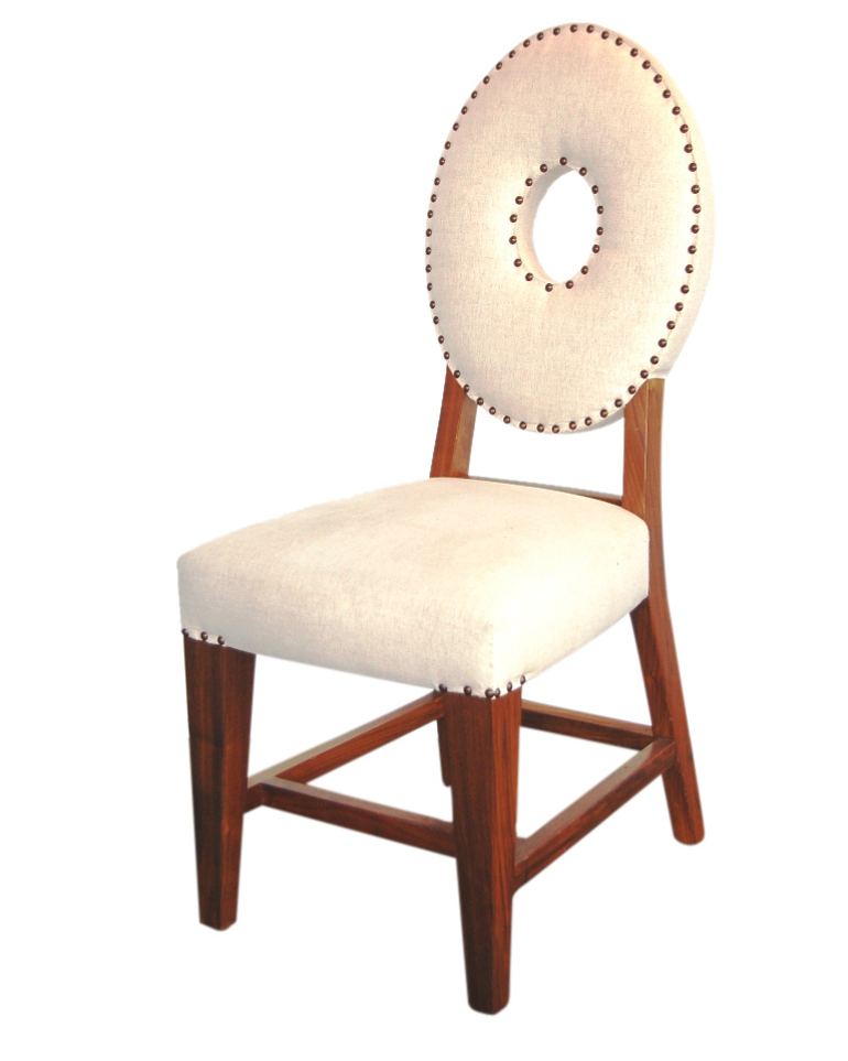 Pacific Beach Oval Back Dining Chair