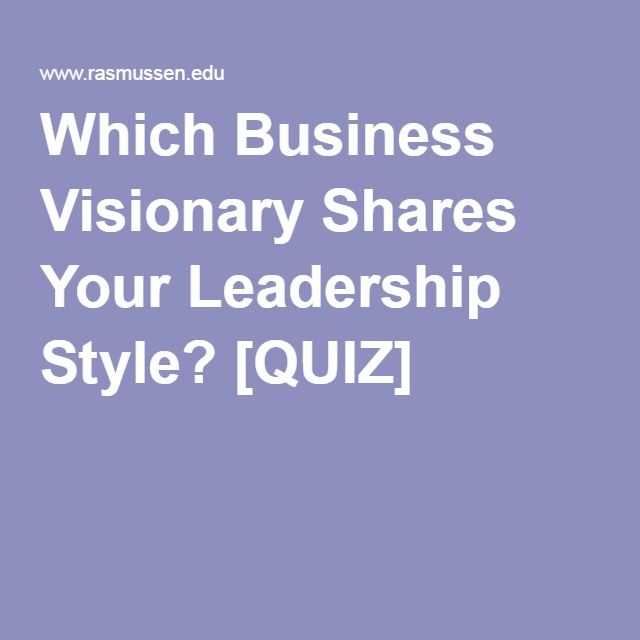 There are many different leadership styles and not all are