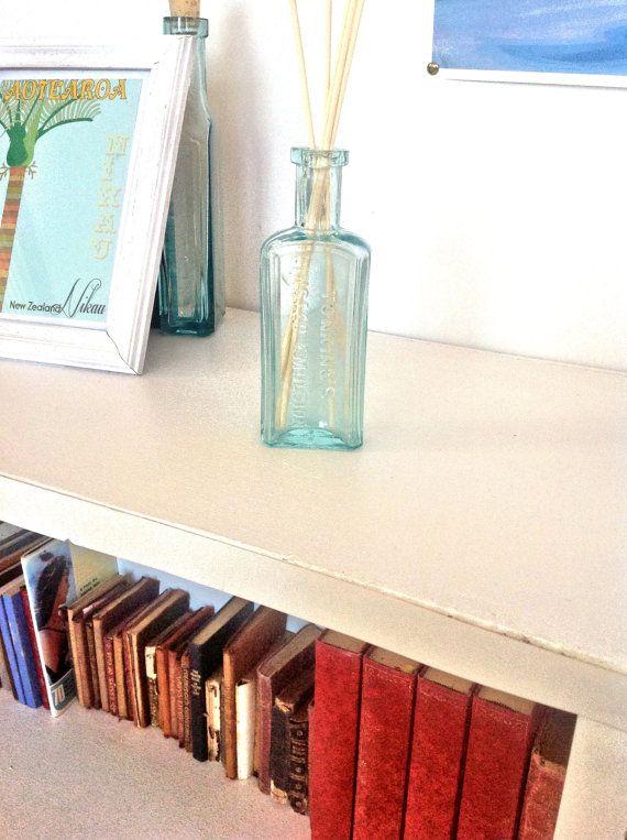 Reed diffuser in preloved vintage bottle upcycled by GemmedSnail, $15.00