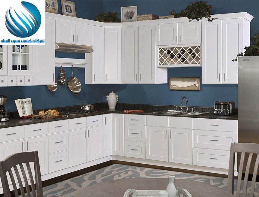 طريقة ترتيب دواليب المطبخ تعرفي على افضل افكار حديثة 2018 للحصول على شكل منسق لمطبخك م Kitchen Cabinetry Design Kitchen Remodel Plans Custom Kitchen Cabinets