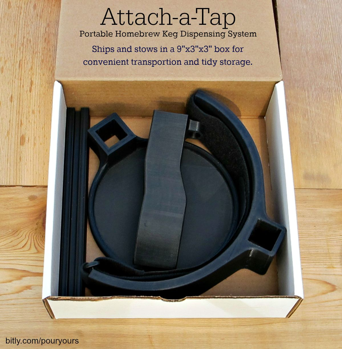 Pin On Attach A Tap Portable Homebrew Keg Dispensing