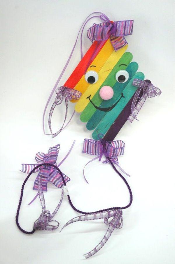 Photo of 40 Kreatives Eis am Stiel Basteln für Kinder