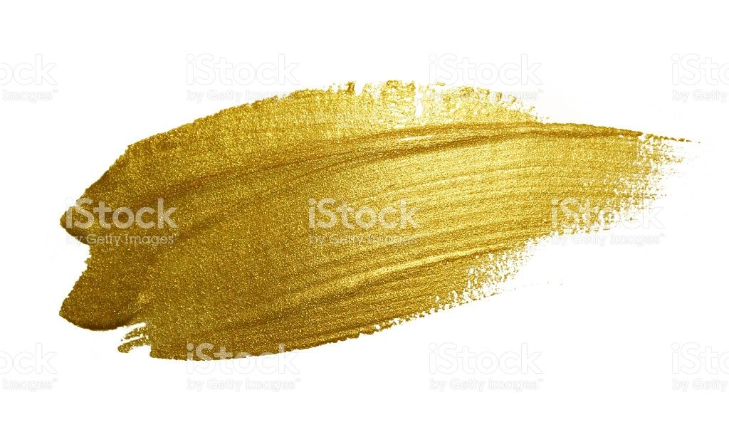 Gold Paint Brush Stroke Abstract Gold Glittering Textured Art Gold Paint Gold Paint Colors Paint Strokes