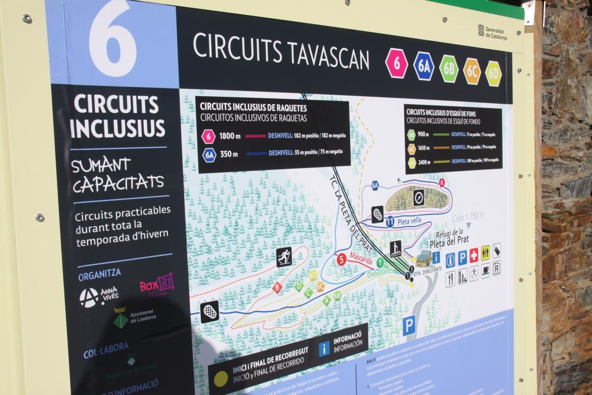 Circuit Inclusiu 6. TAVASCAN. 7 febrer 2015