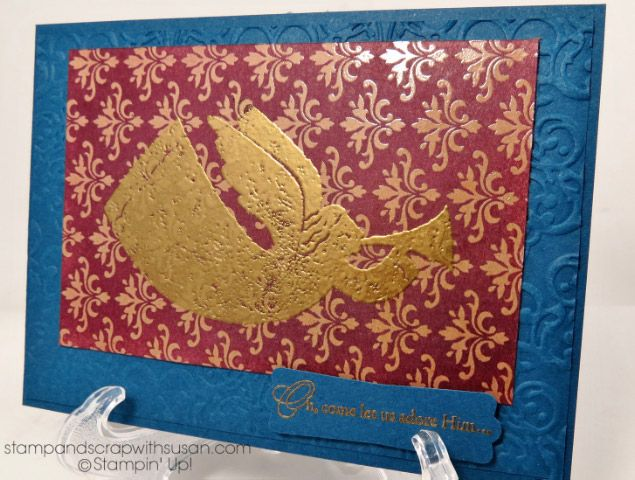Golden Angel by scrapgranny - Cards and Paper Crafts at Splitcoaststampers