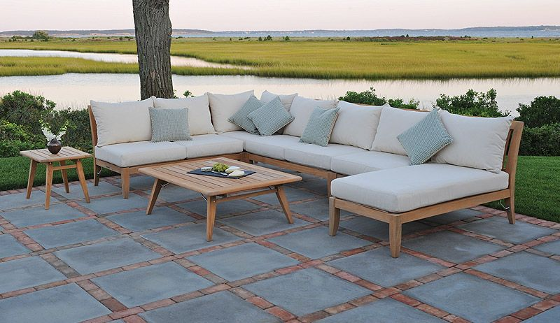 Outdoor Patio Sectional Sofas Outdoor Sofa Teak Outdoor