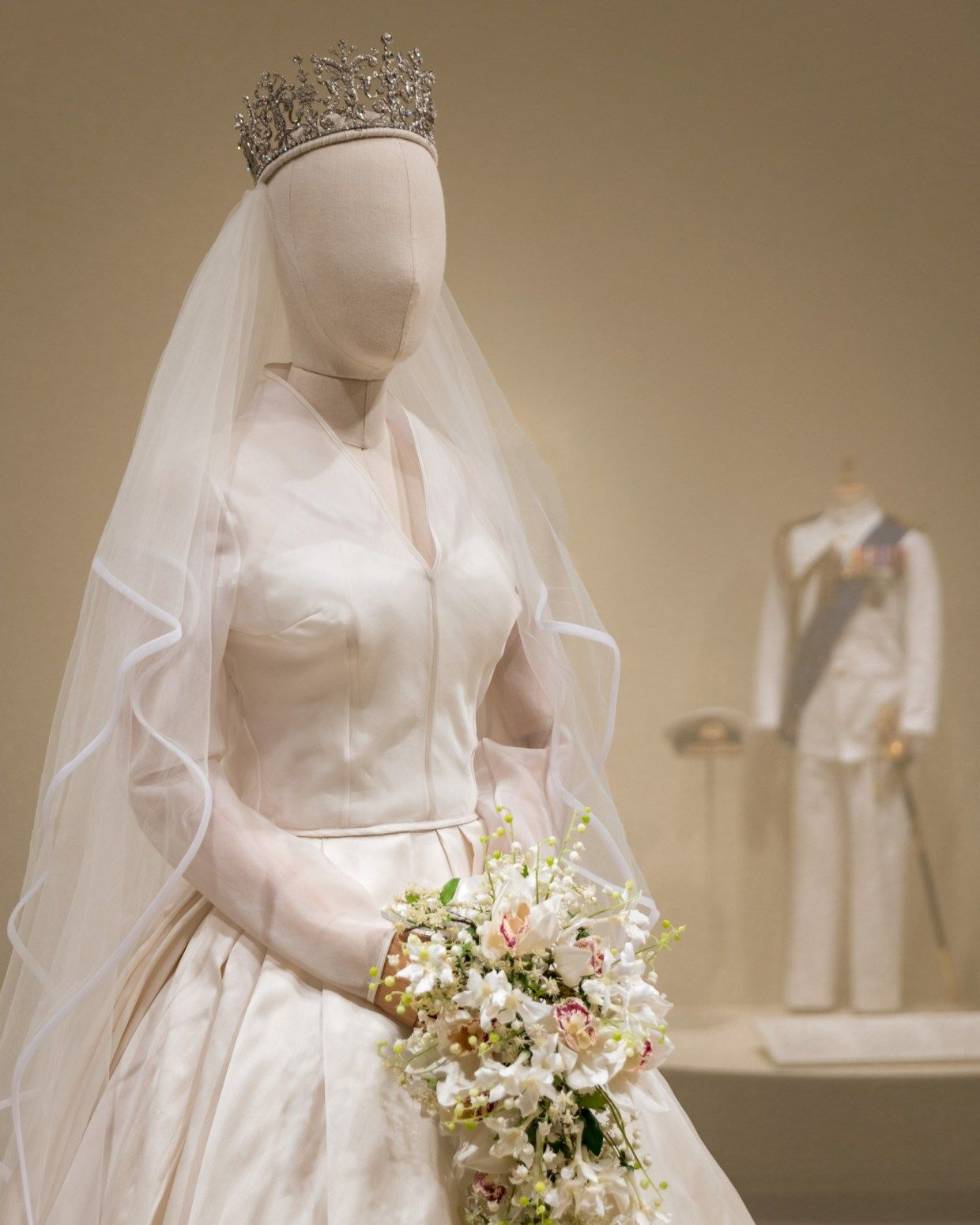 Costuming the Crown Exhibit opens at historic Winterthur