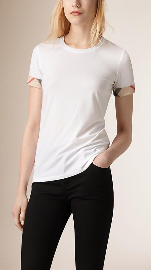 ccc1dc106 Women's Sweatshirts & T-shirts | Burberry | WOMEN'S CASUAL (TOPS ...