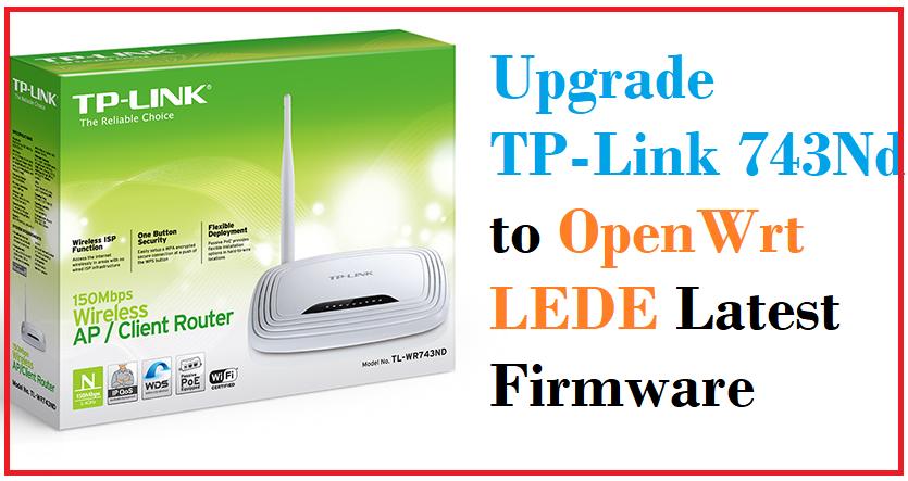 How to Upgrade OpenWrt Attitude Adjustment to OpenWrt Lede