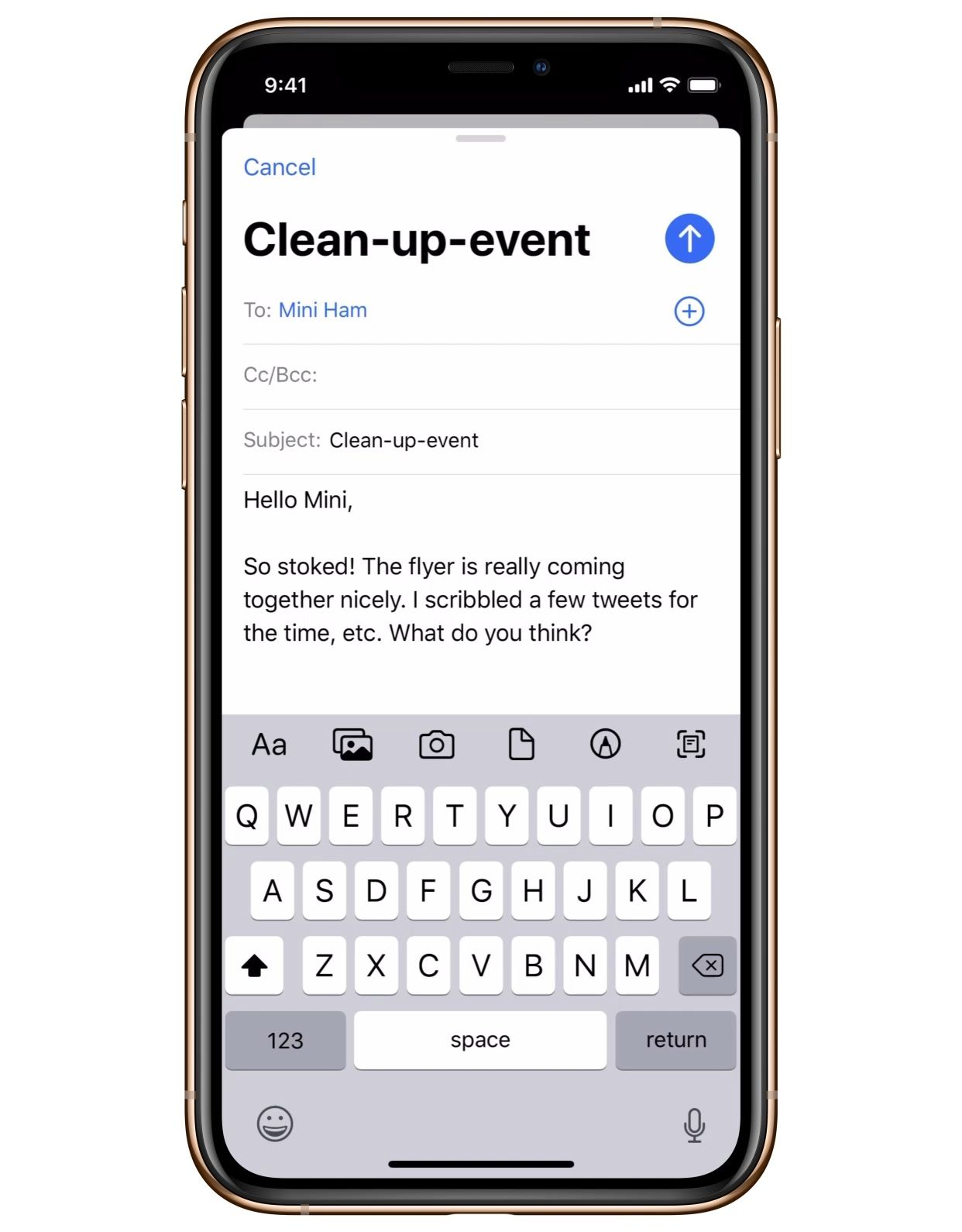 Quickly save email drafts iOS 13 Tips and Tricks for